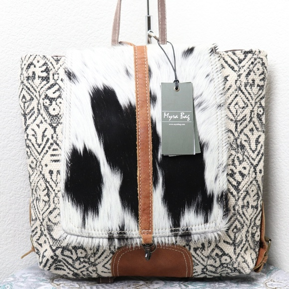 Myra Bag Handbags - Myra Bag NWT COWHIDE FRONT Backpack Bag for Women